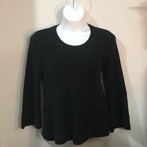 Pine Green Knit Sweater